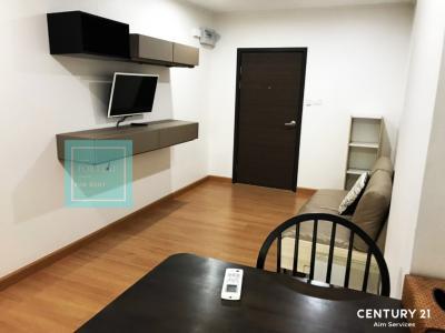 For RentCondoChengwatana, Muangthong : Condo for rent, Supalai Loft Chaengwattana, 1 bedroom, 1 living room, 18th floor, price only 10,000