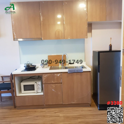 For RentCondoOnnut, Udomsuk : Condo for rent Le Crique Sukhumvit 64/2 Le Crique Sukhumvit, beautiful room, near BTS Punnawithi
