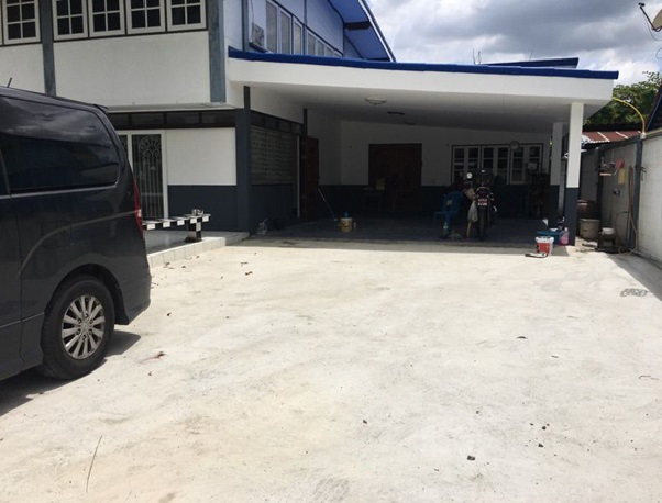 For RentHouseChengwatana, Muangthong : 2 storey detached house for rent, large house, 150 square meters, Soi Ngamwongwan 31. Nursing Home can take care of the elderly.