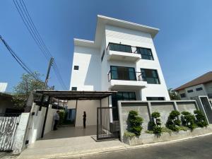 For SaleHouseKasetsart, Ratchayothin : 3 storey detached house for sale, new building, Lat Phrao - Wang Hin Chokchai 4