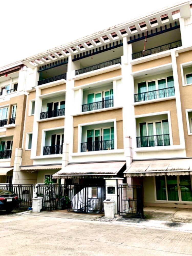 For RentTownhouseRama3 (Riverside),Satupadit : House for rent in Klang Krung Rama 3 size 4 floors.
