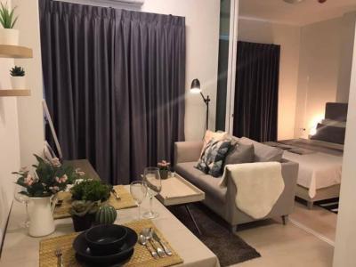 For SaleCondoRatchadapisek, Huaikwang, Suttisan : Sell Chaptet one Eco, 1 bedroom, fully furnished, price 3.39 minus