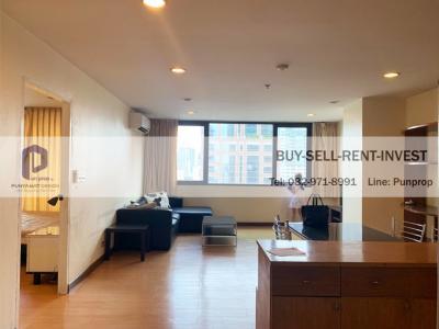 For RentCondoWitthayu,Ploenchit  ,Langsuan : Condo For Rent @ Regent Royal Place 1 BTS Ratchadamri 400 m. 1 br. 21th 18,000 Baht / Month