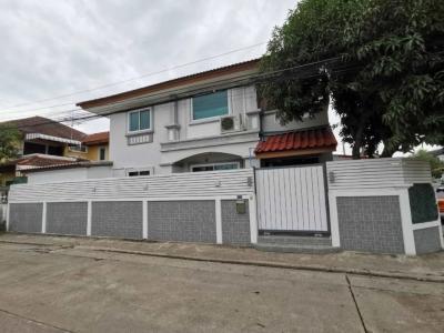 For SaleHouseRamkhamhaeng Nida, Seri Thai : ✅ 2 storey detached house for sale, Soi Serithai 25, size 58 sq m, near The Mall Bangkapi ✅