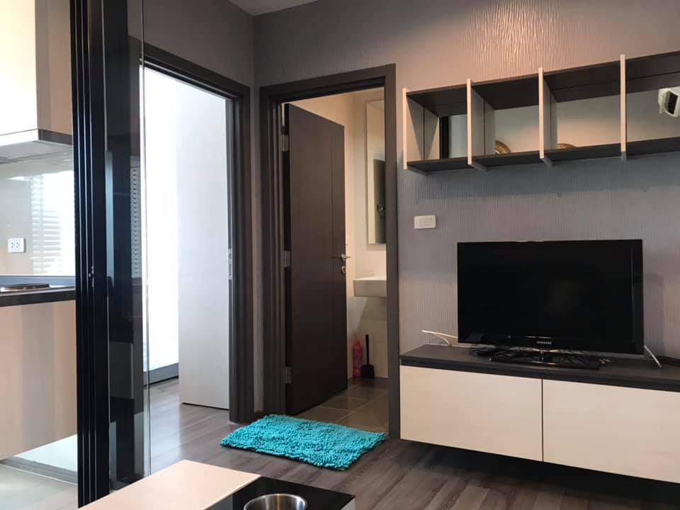 For RentCondoOnnut, Udomsuk : [For rent] The Base Park west Sukhumvit 77, BTS Onnut, 1 Bedroom, 30 sqm.,high floor, no-block view