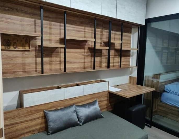 For RentCondoThaphra, Wutthakat : For rent Aspire Sathorn Taksin Copper Zone near BTS Wutthakat city view