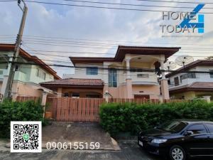 For SaleHouseRamkhamhaeng,Min Buri, Romklao : Sell or rent a 2-storey house, Rungkit Village, Villa 11, Rom Klao Road