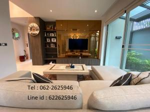 For SaleHouseYothinpattana,CDC : House for sale Private Nirvana Residence North. the corner, 4 car parking