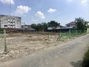 For SaleLandEakachai, Bang Bon : Land for sale in Soi Kamnan Man 5, Ekachai, Kanlapaphruek, 354 square meters, 42x35 meters.