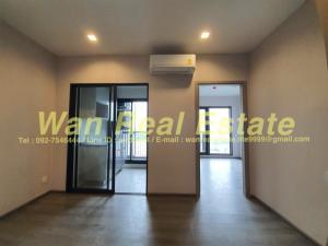 For RentCondoRattanathibet, Sanambinna : Condo for rent, politan aqua, river view, size 29 sq m, 22nd floor, new room, low cost appliances.