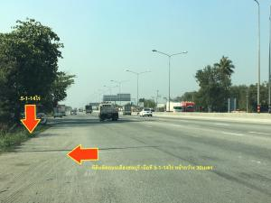 For SaleLandChonburi, Pattaya, Bangsa : Land for sale on the road around Mueang Chon Buri area 5-1-14 rai