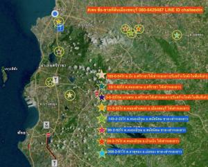 For SaleLandChonburi, Pattaya, Bangsa : Sell or rent Sriracha land, Mueang Chon Buri, 8 rai.