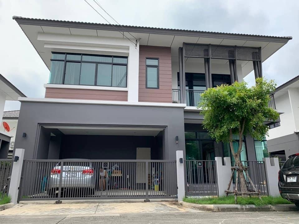เช่าบ้านลาดกระบัง สุวรรณภูมิ : house for rent Ladkrabang bangplee gemopolis