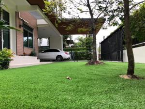 For RentHouseBangbuathong, Sainoi : House for rent, Perfect Masterpiece Rattanathibet project, beautiful house, fully furnished, ready to move in Close to shopping area, near MRT Sai Ma