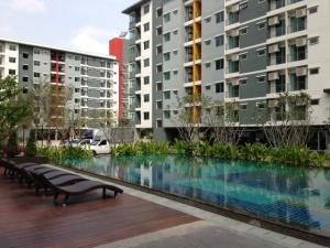 For RentCondoRatchadapisek, Huaikwang, Suttisan : Condo for rent: supalai city resort Ratchada-Huaykwang, near the train 7400 baht