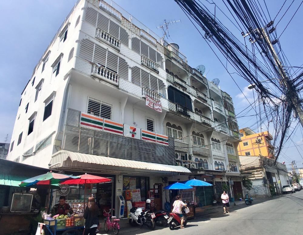 For SaleShophouseEakachai, Bang Bon : 4.5 storey commercial building for sale, 2 booths, Ekachai 34, Bang Bon, near Bang Khun Thian Post Office, Bangkok