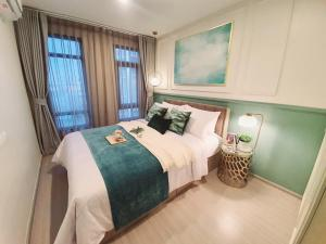 For SaleCondoRatchadapisek, Huaikwang, Suttisan : Condo for sale Aspire Asoke-Ratchada Fully furnished Beautifully decorated, ready to move in !!