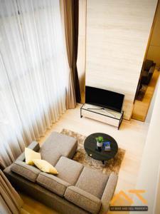 For RentCondoSathorn, Narathiwat : For rent: KnightsBridge Prime Sathorn, Duplex room, size 37 sq.m., beautiful room, high floor