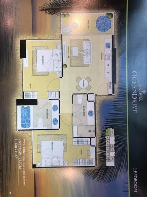 ขายคอนโดพัทยา บางแสน ชลบุรี : ขายห้องหายาก 2 ห้องนอน Oceandrive Pattaya10.95 million