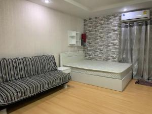 For RentCondoRatchadapisek, Huaikwang, Suttisan : ✅ For rent, Happy Condo Ratchada 18, near MRT, size 28 sqm, complete with furniture and electrical appliances ✅