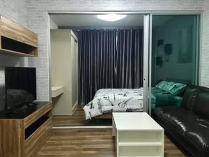 For SaleCondoOnnut, Udomsuk : Condo for sale A Space Me Sukhumvit 77, beautiful room, pool view, fully furnished & electrical appliances, ready to move in (S1635)