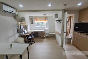 For RentCondoLadprao101, The Mall Bang Kapi : Available 15/11/2020 for rent, Free Island Condo Ladprao 93, Duplex 2 storey condo, luxury design, 1 bedroom, large living room