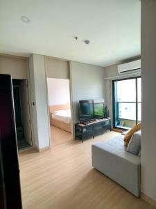 เช่าคอนโดพระราม 9 เพชรบุรีตัดใหม่ : ปล่อยเช่า Lumpini Suite Phetchaburi - Makkasan 1 ห้องนอน 1 ห้องน้ำ 40.60 ตรม. #PN-00001107