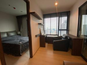 For RentCondoRama9, RCA, Petchaburi : For rent (Rhythm asoke1) 30 sq m, 1 bedroom, high floor, elegant decoration, rent 14,500 baht, during coronavirus, please contact 099-4956985