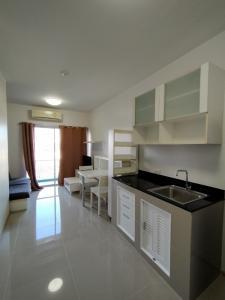 For RentCondoRama9, RCA, Petchaburi : 10,000 ถ้วน!! ให้เช่าคอนโด เอสเปซ อโศก-รัชดา ขนาด 35 ตรม. ห้องสวย มีเครื่องซักผ้า