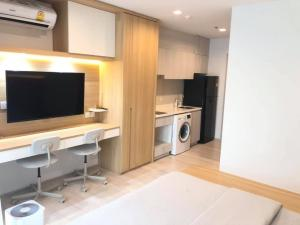 For RentCondoWitthayu,Ploenchit  ,Langsuan : For Rent Nicely Decorated Studio 24sqm 17,900Baht Life One Wireless