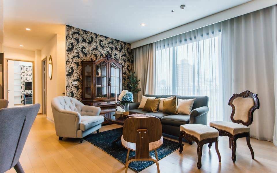 ขายคอนโดสุขุมวิท อโศก ทองหล่อ : +++ขายด่วน+++ HQ Thonglor, 2 ห้องนอน 79.79 ตรม. ชั้น 8 แต่งครบพร้อมอยู่