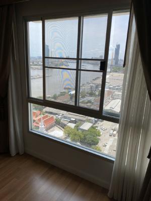 For SaleCondoRama3 (Riverside),Satupadit : Sale Lumpini Park Riverside Rama 3 River view Building C, 27th floor.