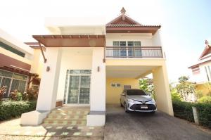 For RentHouseChiang Mai, Chiang Rai : House for rent, Greenery Villa, 4 bedrooms, 3 bathrooms, 138 sq m. # PN-00003297