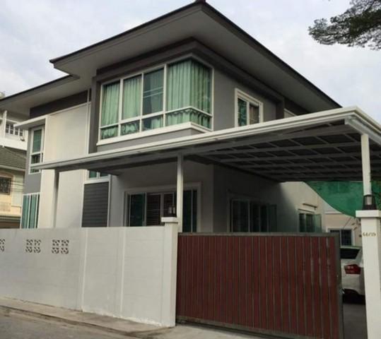 เช่าบ้านเกษตร นวมินทร์ ลาดปลาเค้า : ให้เช่าบ้านเดี่ยว2ชั้น 4ห้องนอน ย่านเสรีไทย ซอยเสรีไทย26 พร้อมอยู่ ใกล้ทางด่วน บ้านหลังมุม