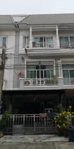 For SaleTownhouseRama9, RCA, Petchaburi : 3-storey townhome for sale, 20 sq m., The Metro Rama 9 (The Metro Rama 9)