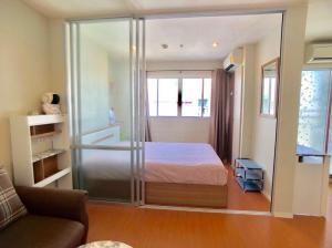 For RentCondoBangna, Lasalle, Bearing : Condo for rent at 6,000 baht near the mall at Lumpini Mega City Bangna, ready to move in