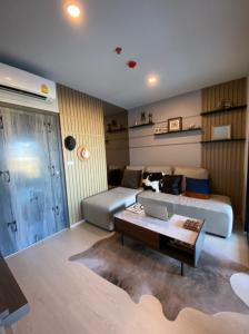 For SaleCondoOnnut, Udomsuk : Sale !! Corner room, special price, get 3 hundred thousand, eilo delnest, fully furnished, ready, near bts Udomsuk, Bangna expressway.