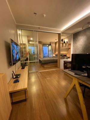 For SaleCondoRama3 (Riverside),Satupadit : ** Loss sale ** Condo U Delight Rama 3 *** Beautiful room, ready on the 24th floor, size 34 sqm., 1 bedroom, 1 bathroom, river view. (Not a temple) Price is only 2.99 million.