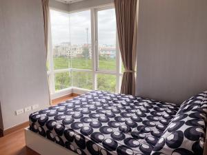 For RentCondoLadkrabang, Suwannaphum Airport : Condo for rent near Suvarnabhumi airport 2 bedrooms, 1 bathroom, size 41 sqm.