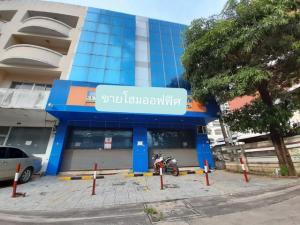 For SaleHome OfficeBangna, Lasalle, Bearing : 4-storey home office for sale, 80 sq.wa., Soi Mittraphap, Bangna-Trad Road, near Bangna Tower