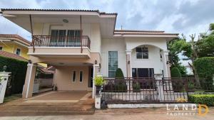 ขายบ้านโคราช เขาใหญ่ ปากช่อง : 📍 บ้านสวยภายในหมู่บ้านหรู อยู่ใจกลางเมืองโซนเอ็กคลูซีพ เนื้อที่ 104 ตร.วา #ทางเข้าออกสะดวก4เลน‼️สาธารณูปโภคครบครัน‼️