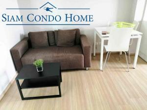 For RentCondoBang kae, Phetkasem : Condo for rent, Fuse, Bang Khae, Phutthamonthon Sai 2, with washing machine, 1 bedroom, 32 sqm., Ready to move in 8,900