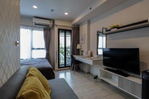For RentCondoChiang Mai, Chiang Rai : Escent Ville Chiangmai in Central Festival 28 Sqm 5th floor 1 bedroom Apartment
