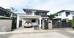For RentHouseBangna, Lasalle, Bearing : ⭐ House for rent Manthana Bangna Km.7 near Mega Bangna