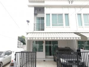 For SaleTownhouseNawamin, Ramindra : 2-storey townhome, Pleno Ring Road, Ramintra, 28 sq m., Very good condition, cheap
