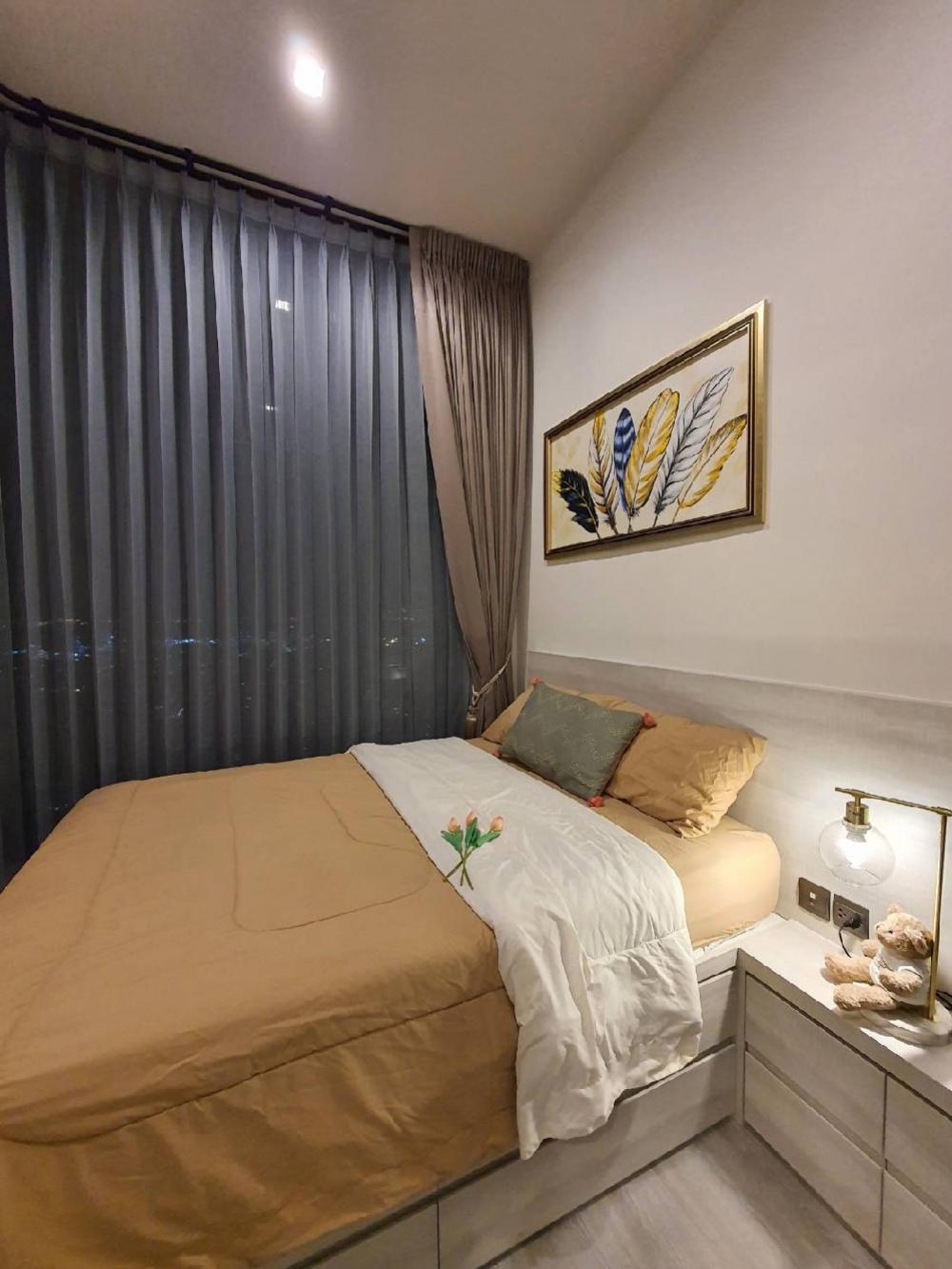 เช่าคอนโดอ่อนนุช อุดมสุข : The Line Sukhumvit 101 for Rent,  1bedroom,  30fl., river city view, 14,000B/m **free wifi