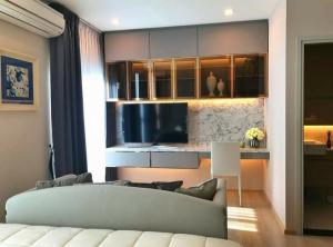 For RentCondoRatchadapisek, Huaikwang, Suttisan : 💥 Rent a beautiful room, Noble Revolve Ratchada project, 2 bedrooms, 2 bathrooms, size 54 sq.m., complete built-in furniture