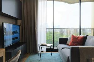 For RentCondoOnnut, Udomsuk : 🎉 New room for rent, Kawa haus Condo, 7th floor, Building A, size 33 sqm. ตรม Beautiful view, resort-style atmosphere. Ready to move in