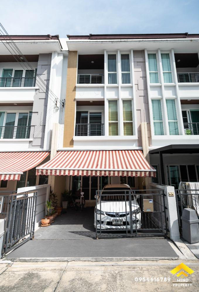 For SaleTownhouseRama9, RCA, Petchaburi : ขายด่วนทาวน์โฮม 3 ชั้น หมู่บ้านบ้านกลางเมือง S Sense พระราม 9 - ลาดพร้าว ใกล้จุดขึ้นลงทางด่วน ย่านประดิษฐ์มนูธรรม วังทองหลาง