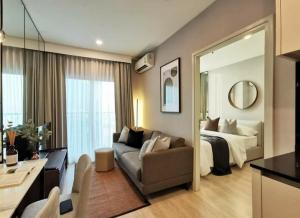For RentCondoRatchadapisek, Huaikwang, Suttisan : 💕 For rent: Noble revolve Ratchada, 19th floor 💥, very beautiful decorated room, 1 bedroom, can move in